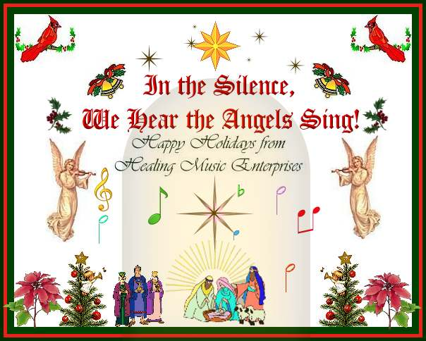 Healing Music Ezine Extends Best Wishes to You during this Holiday Season